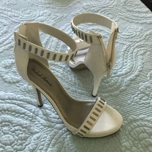 White high heels New with tags